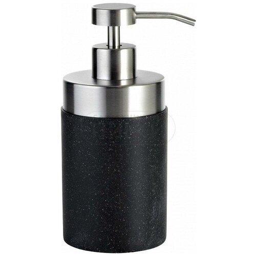 Фото - Дозатор для жидкого мыла RIDDER Stone, черный дозатор для жидкого мыла ridder paris 22250510 черный