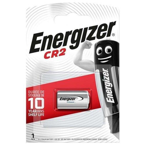 Фото - Батарейка Energizer CR2, 1 шт. батарейка energizer max plus aa 4 шт