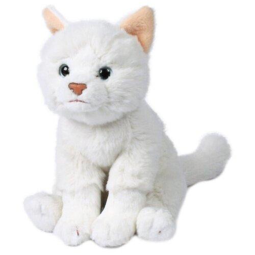 Мягкая игрушка Anna Club Plush Кошка Русская белая сидящая 15 см