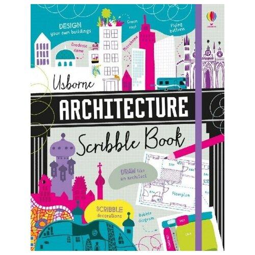 Купить Architecture scribble book, Usborne, Детская художественная литература