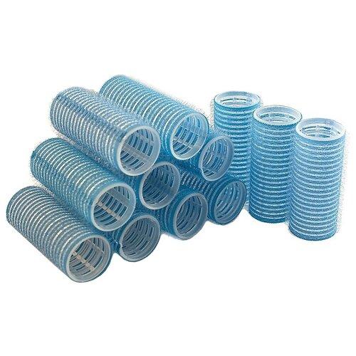 Фото - Бигуди-липучки Sibel Velcro 4123049 (28 мм) 12 шт. голубой мягкие бигуди sibel foam 4251933 34 мм 5 шт желтый