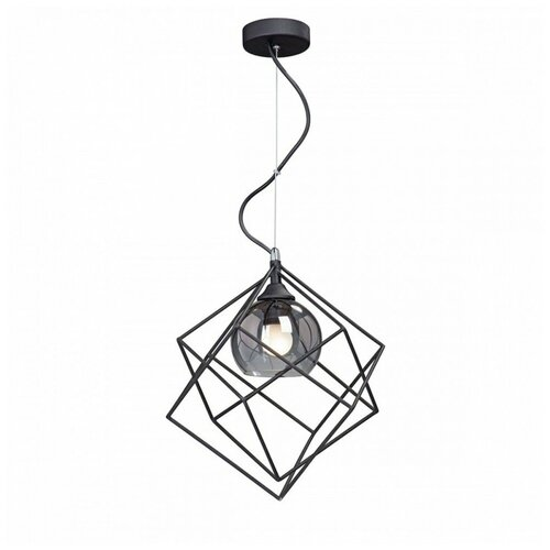 Фото - Потолочный светильник Vitaluce V4571-1/1S, E27, 40 Вт, кол-во ламп: 1 шт., цвет арматуры: черный, цвет плафона: черный светильник vitaluce v4849 1 1s e27 40 вт