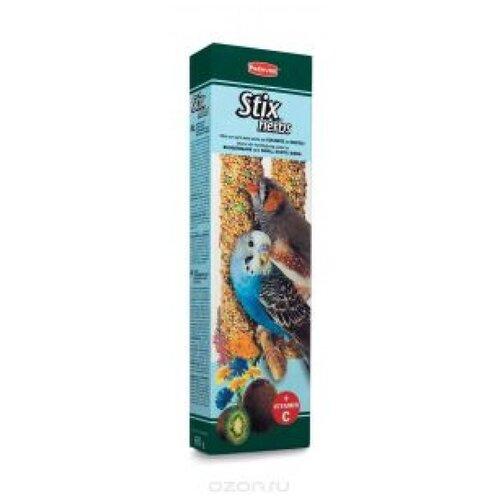 Падован 01418 палочки д/волнистых попугаев и экзотических птиц антистрессовые с травами 60г*2шт
