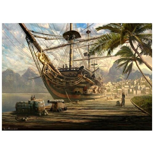Schmidt Пазл Schmidt 1000 деталей: Корабль на якоре