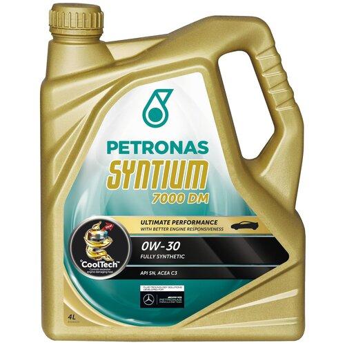 Синтетическое моторное масло Petronas Syntium 7000 DM 0W30 4 л