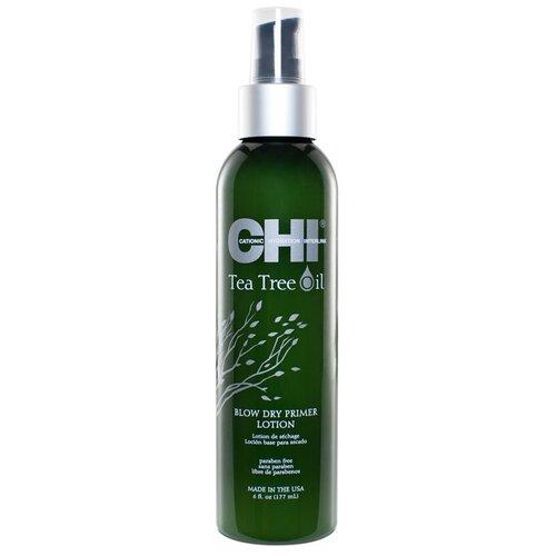 Купить CHI Tea Tree Oil защитный лосьон Blow Dry Primer, 177 мл