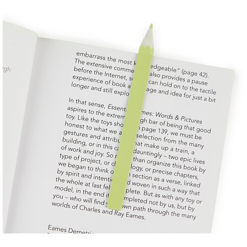 Купить Balvi Закладка для книг Graphite зеленая, Закладки