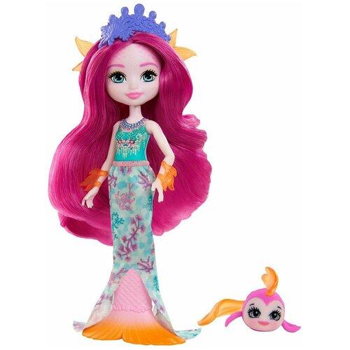 enchantimals кукла felicity fox Кукла Энчантималс Enchantimals Маура Русалка и Глайд