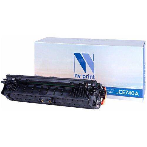 Фото - Картридж NV Print CE740A для HP, совместимый картридж nv print ce412a для hp совместимый