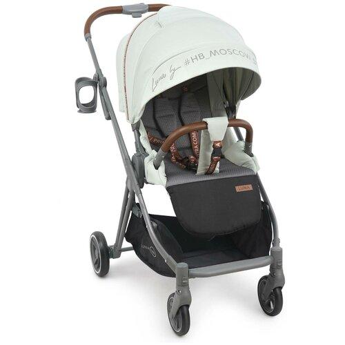 Прогулочная коляска Happy Baby Luna, mint happy baby коляска трость happy baby twiggy green
