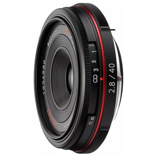 Объектив Pentax SMC DA 40mm f/2.8 Limited HD black