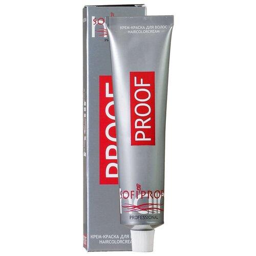 Купить Sofiprofi Крем-краска для волос PROOF, 4.77 шатен интенсивно шоколадный, 60 мл