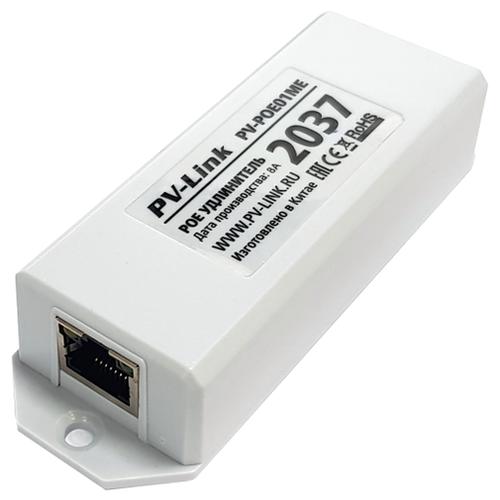 Одноканальный удлинитель PoE с базовой скоростью передачи данных 10/100 Мбит/с PV-Link PV-POE01ME (ver.2037)