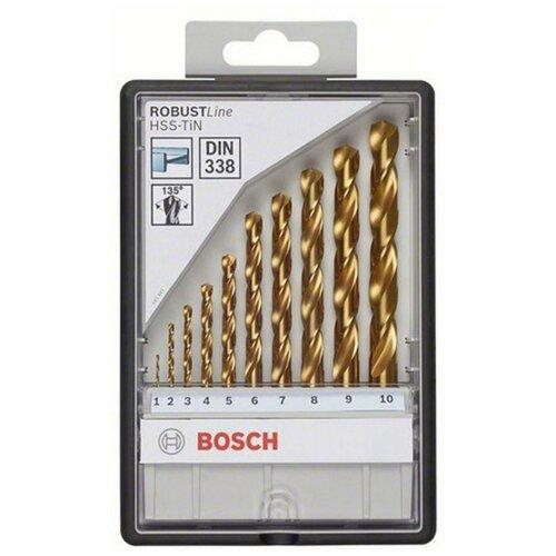Фото - Набор сверл BOSCH Robust Line 2.607.010.536 набор сверл bosch robust line multi construction 2 607 010 543