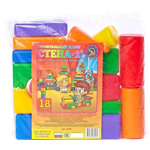 Фото - Кубики Строим вместе счастливое детство Стена-2 5244 кубики строим вместе счастливое детство набор 2 5253