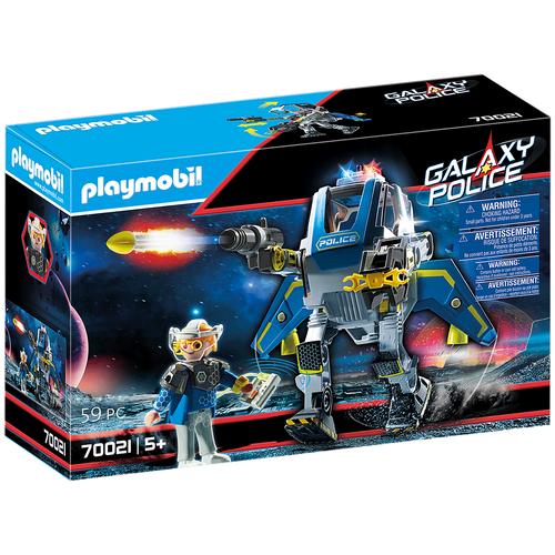 Конструктор Playmobil Galaxy Police 70021 Полицейский робот Галактики, Конструкторы  - купить со скидкой