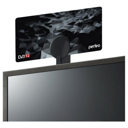 Комнатная DVB-T2 антенна Perfeo PF-TV3214 комнатная dvb t2 антенна perfeo pf tv3214