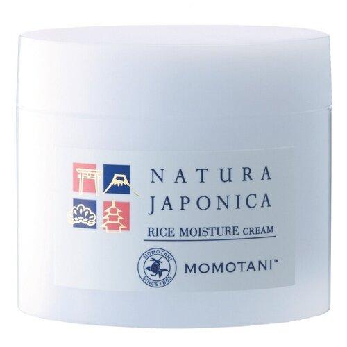 Momotani Nj Rice Moisture Cream Увлажняющий крем с экстрактом ферментированного риса для лица, 48 г