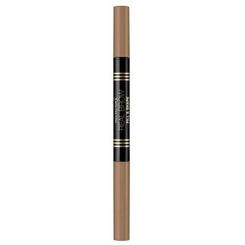 Купить Max Factor карандаш для бровей Real Brow Fill & Shape Pencil, оттенок 001
