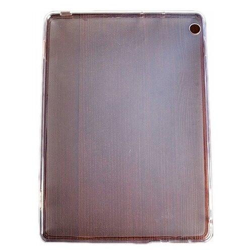 Чехол панель-накладка MyPads для Huawei MediaPad M3 Lite 10 Wi-Fi/ LTE (BAH-AL00 / W09) ультра-тонкая полимерная из мягкого качественного силикона белая