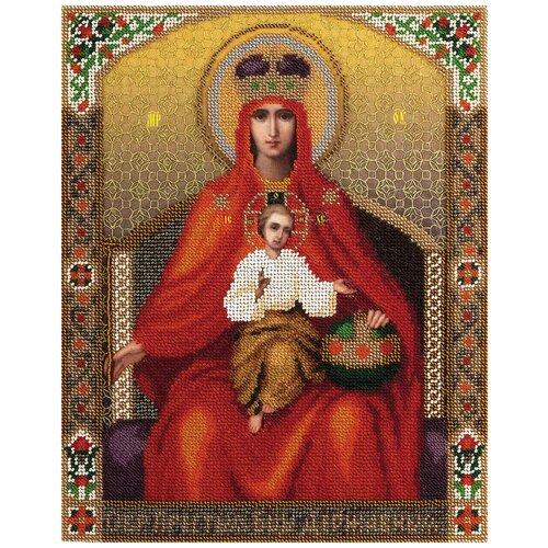 Купить PANNA Набор для вышивания бисером и нитками Икона Божией Матери Державная 25 х 30.5 (CM-1477), Наборы для вышивания
