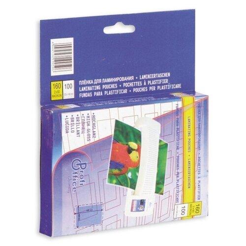 Пакетная пленка для ламинирования ProfiOffice 100x146 мм 1001-019050-7 80 мкм 100 шт.