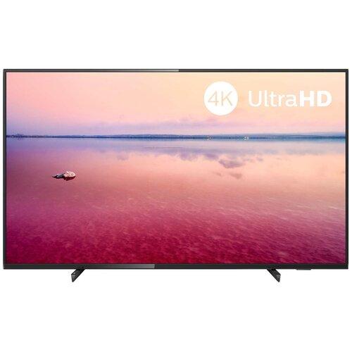 Фото - Телевизор Philips 50PUS6704 50 (2019), черный глянцевый телевизор philips 50pus6654 50 2019 серебристый металлик