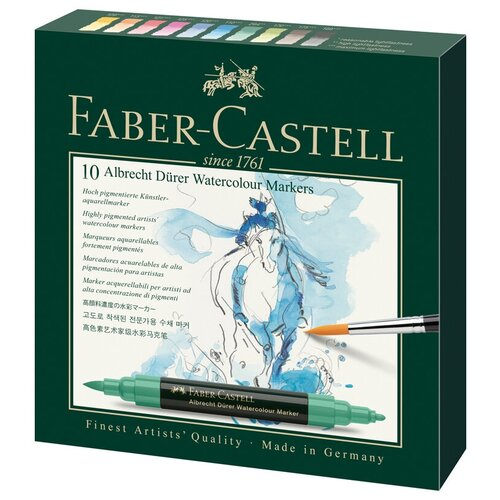 Faber-Castell Набор маркеров Albrecht Dürer (160310) 10шт. stacey bieler albrecht dürer