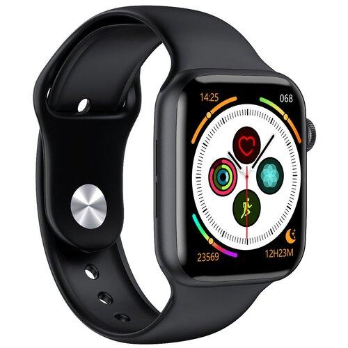 Умные часы IWO W46, черный умные часы c gps iwo smart watch iwo 11 черный