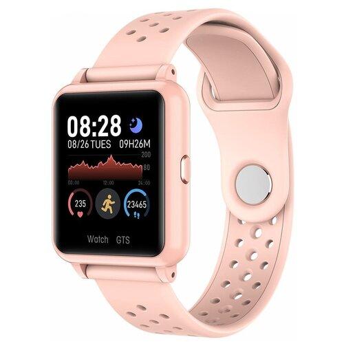 Умные часы GARSline P29, розовое золото