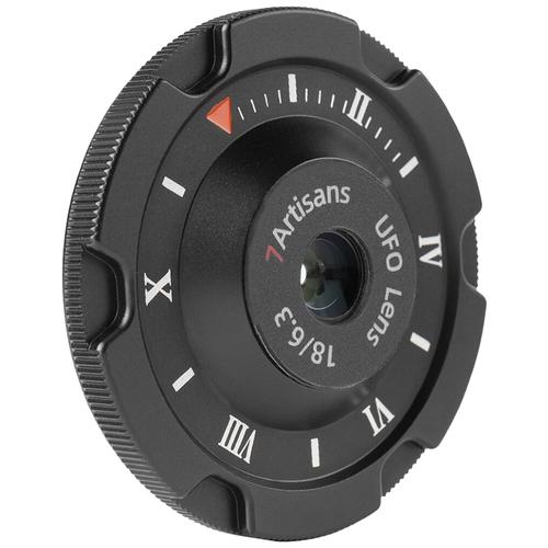 Объектив 7artisans 18mm f/6.3 Fujifilm X черный
