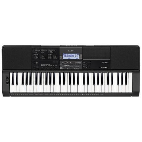 Синтезатор CASIO CT-X800 черный