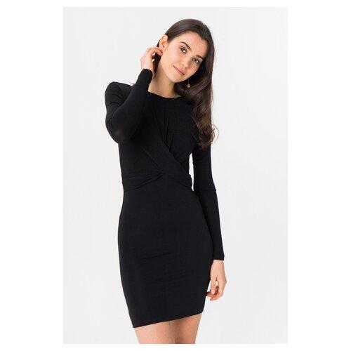 платье only only on380ewcaxr7 Платье ONLY 15189967 женское Цвет Черный Black Однотонный р-р 44 M