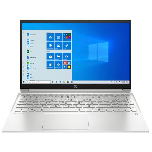 Фото - 15.6 Ноутбук HP PAVILION 15-eh0002ur (1920x1080, AMD Ryzen 3 2.7 ГГц, RAM 4 ГБ, SSD 256 ГБ, Win10 Home), 281A1EA, естественный серебристый ноутбук hp pavilion 15 eh0002ur amd ryzen 3 4300u 2700mhz 15 6 1920x1080 4gb 256gb ssd amd radeon graphics windows 10 home 281a1ea естественный серебристый