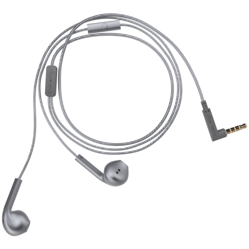 Наушники Happy Plugs Earbud Plus, space grey