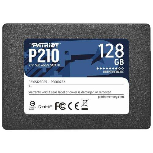 Твердотельный накопитель Patriot Memory 128 GB P210S128G25