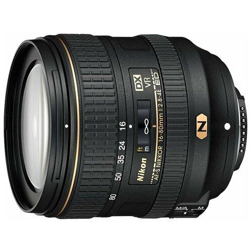 Фото - Объектив Nikon 16-80mm f/2.8-4E ED VR AF-S DX Nikkor объектив nikon af s nikkor 500mm f 5 6e pf ed vr