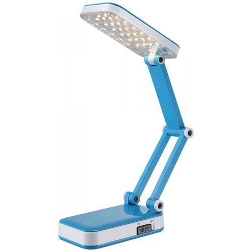 люстра светодиодная globo ina 12 вт 29 см цвет хром Настольная лампа светодиодная Globo Lighting CLAP 58354, 2.5 Вт