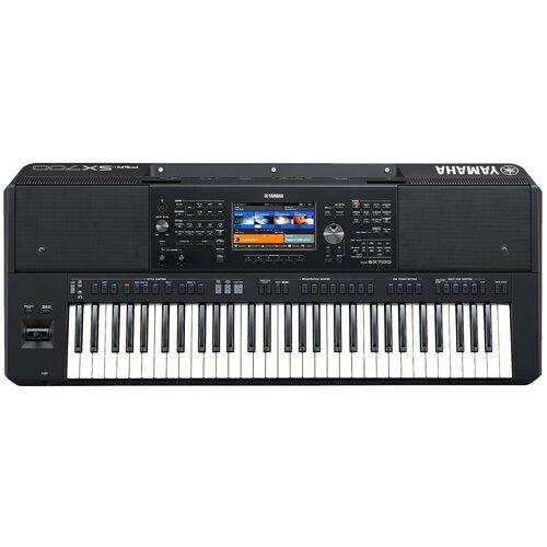 Синтезатор YAMAHA PSR-SX700 черный
