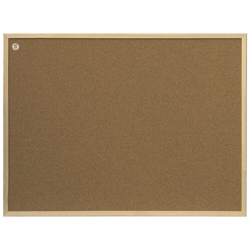 Фото - Доска пробковая 2x3 TC86/C (60х80 см) коричневый доска пробковая 2x3 60x90cm tc96