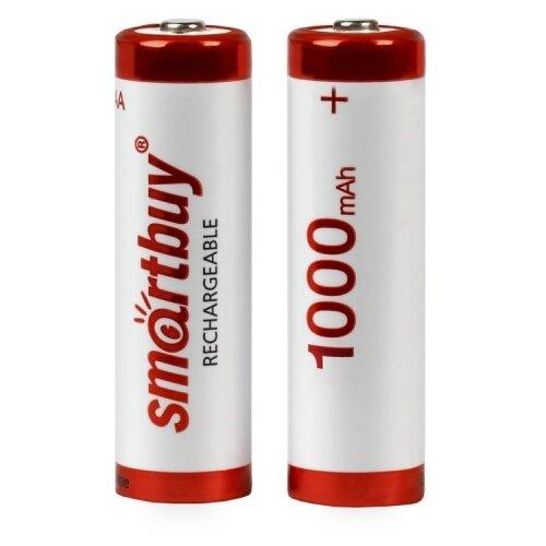 Фото - Аккумулятор Ni-Mh 1000 мА·ч SmartBuy Rechargeable AA, 2 шт. аккумулятор ni mh 1000 ма·ч camelion nh aaa1100 2 шт