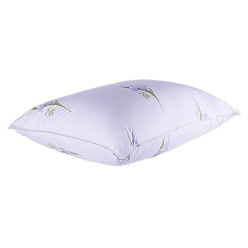 Подушка Nature's Царственный Ирис, ЦИ-П-3-2 50 х 68 см белый