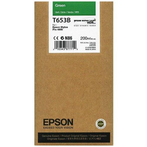 Картридж Epson C13T653B00