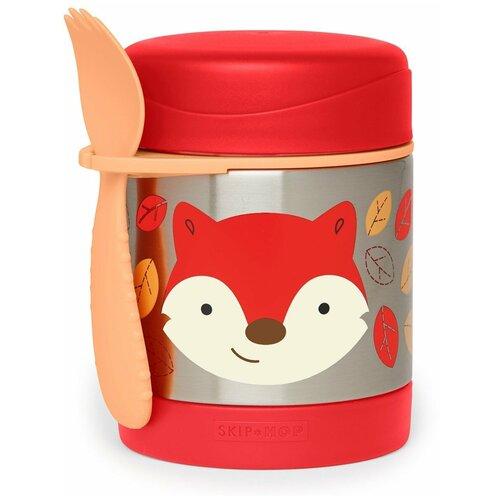 Термос для еды SKIP HOP Zoo Fox, 0.325 л красный