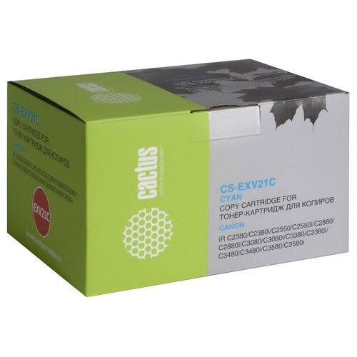 Картридж cactus CS-EXV21C совместимый