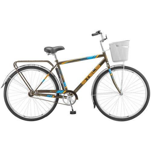 велосипед stels navigator 300 gent 28 z010 20 синий Городской велосипед STELS Navigator 300 Gent 28 Z010 (2018) серый 20 (требует финальной сборки)