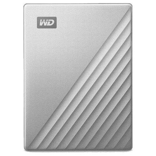 Фото - Внешний HDD Western Digital My Passport Ultra (WDBC3/WDBFT) 2 TB, серебристый thermaltake для hdd max4 n0023sn серебристый