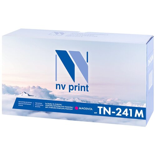 Фото - Картридж NV Print TN-241T Magenta для Brother, совместимый картридж nv print tn 213 black