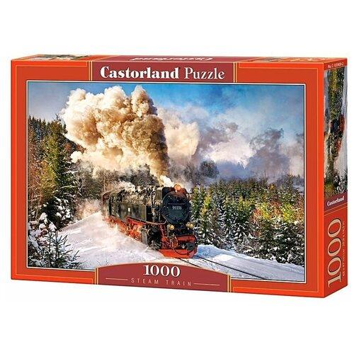 Купить Пазл Castorland Steam Train (C-103409), 1000 дет., Пазлы