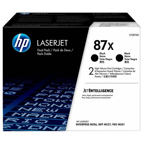 Набор картриджей HP CF287XD